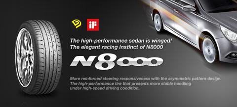 Резина Nexen N8000
