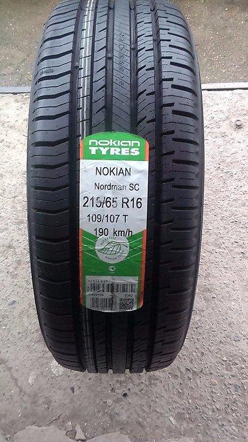 Резина Nokian Nordman SC