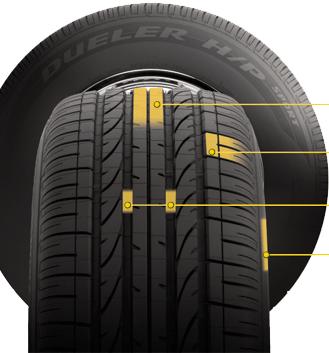 Автошины Bridgestone Dueler h/p sport
