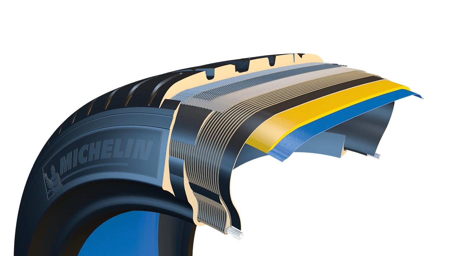 Каркас резины Michelin Latitude Sport 3