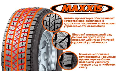 Резина Maxxis SS01 Presa Ice SUV