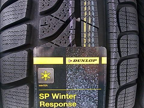 Резина Dunlop SP WinterResponse