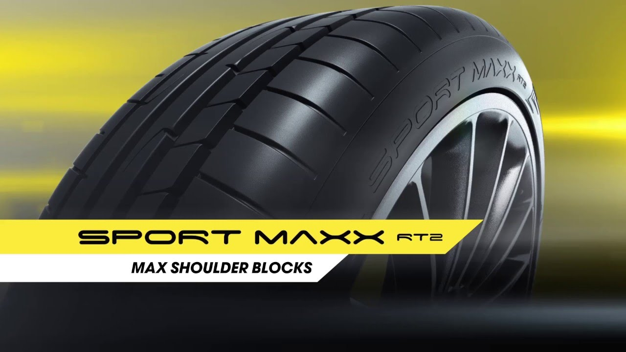 Резина Dunlop Sport MAXX RT 2