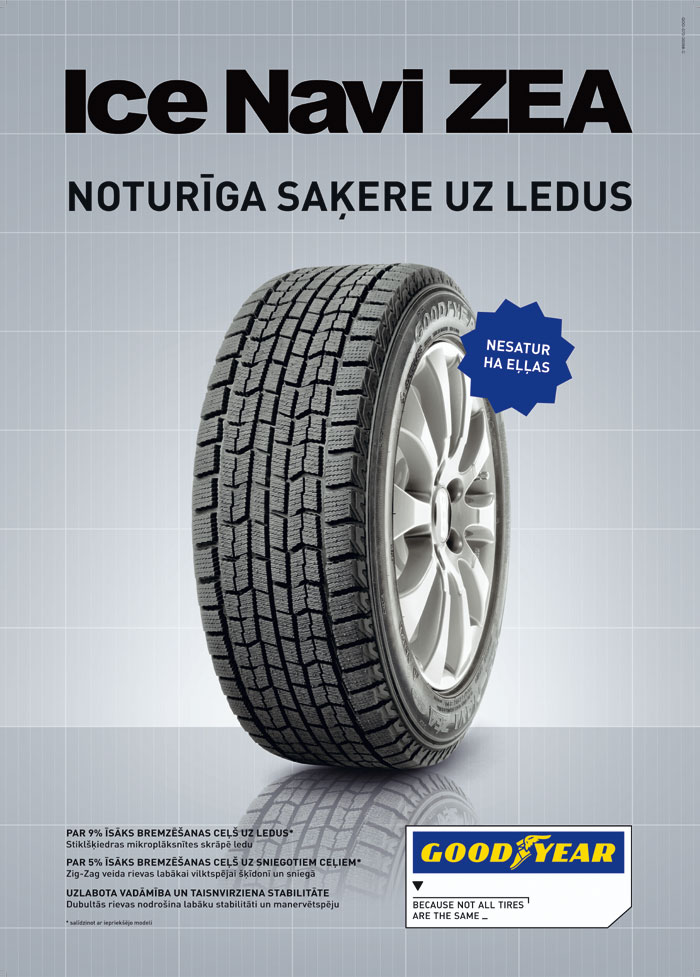 Резина Goodyear Ice Navi Zea