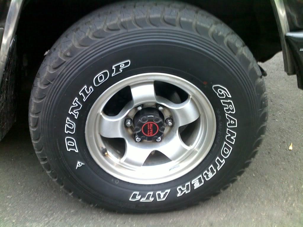 Автошины Dunlop Grandtrek AT1