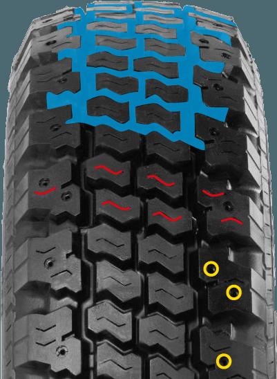 Резина Bridgestone RD713 Winter