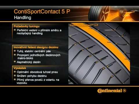 Шины Continental ContiSportContact 5P