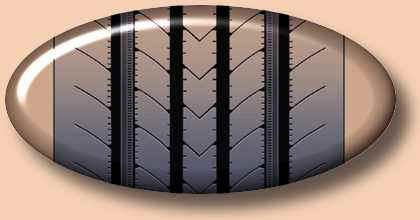 Резина Bridgestone R227 (рулевая ось)