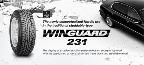 Зимняя резина Nexen WinGuard 231