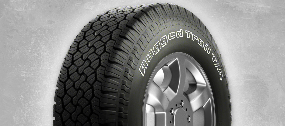 Резина BFGoodrich Rugged Trail T/A