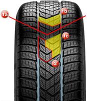 Протектор автошины Pirelli Scorpion Winter