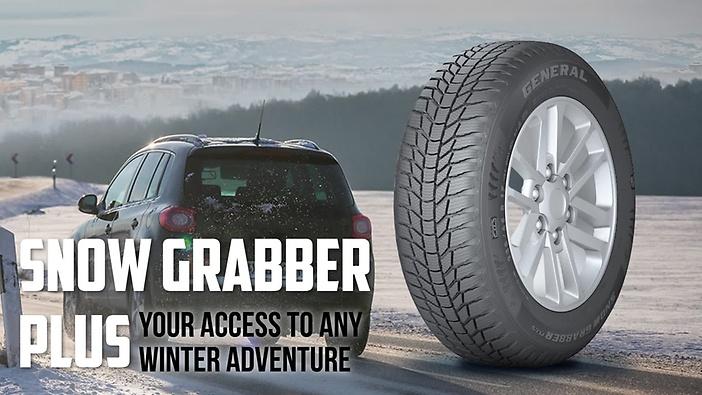 Резина General Tire Snow Grabber Plus