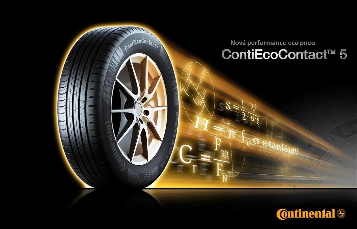 Резина Continental ContiEcoContact 5