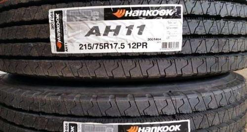 Резина Hankook AH11 (рулевая ось)