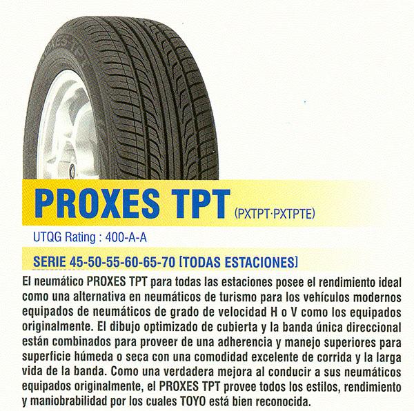 Резина Toyos Proxes TPT