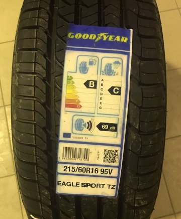 Резина Goodyear Eagle Sport TZ