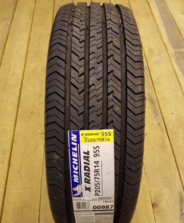 Резина Michelin X Radial DT