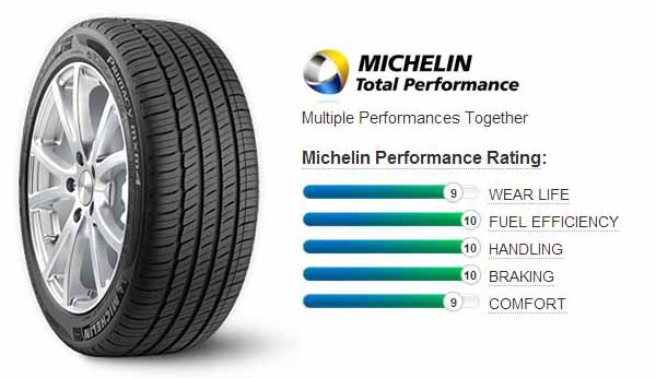 Резина Michelin Primacy MXM4