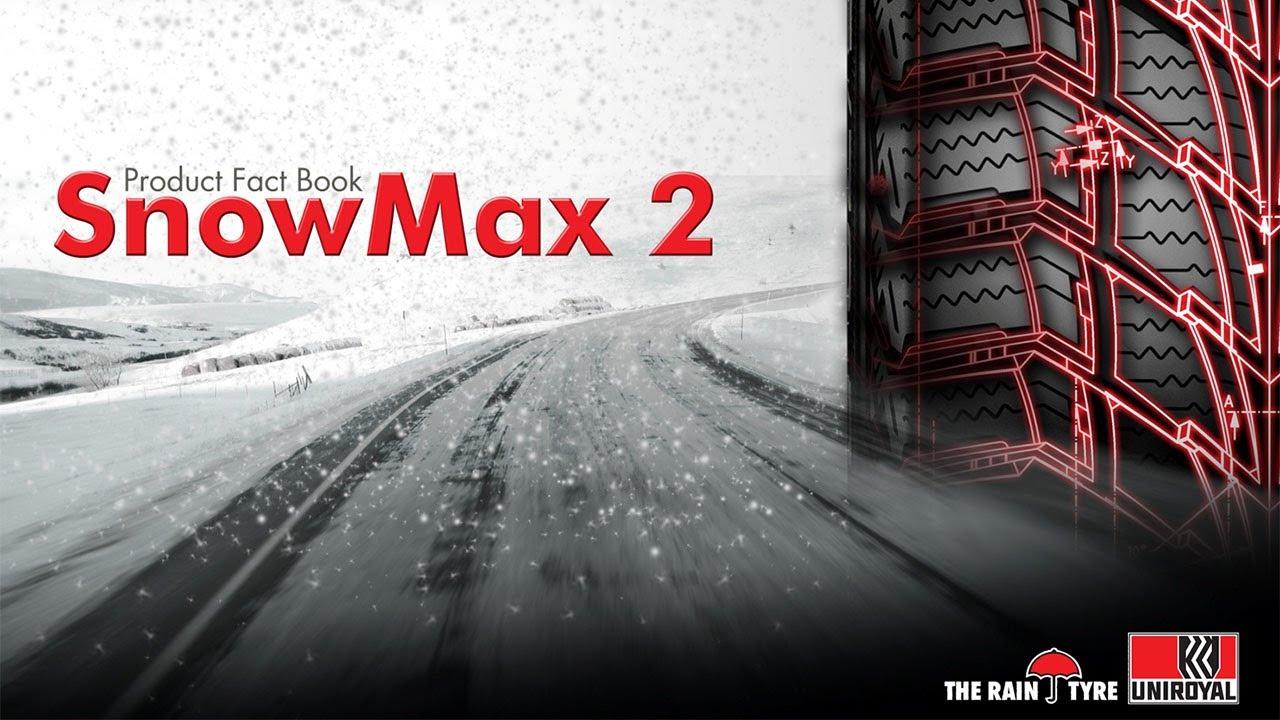 Резина Uniroyal SnowMax 2