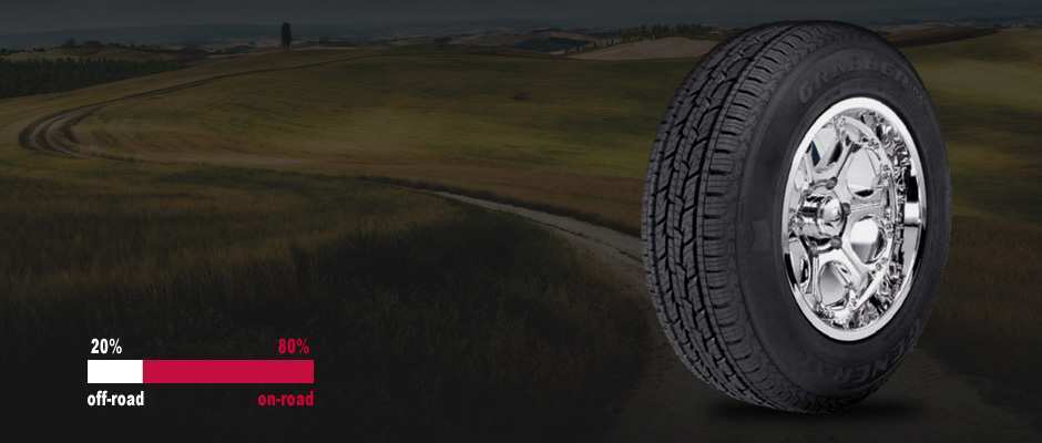Резина General Tire Grabber HTS