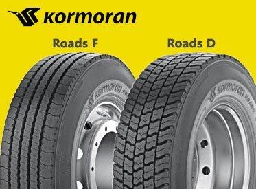 Резина Kormoran Roads D (ведущая ось)