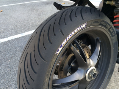 Моторезина Michelin Pilot Road 4
