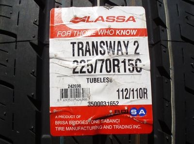 Резина Lassa Transway 2