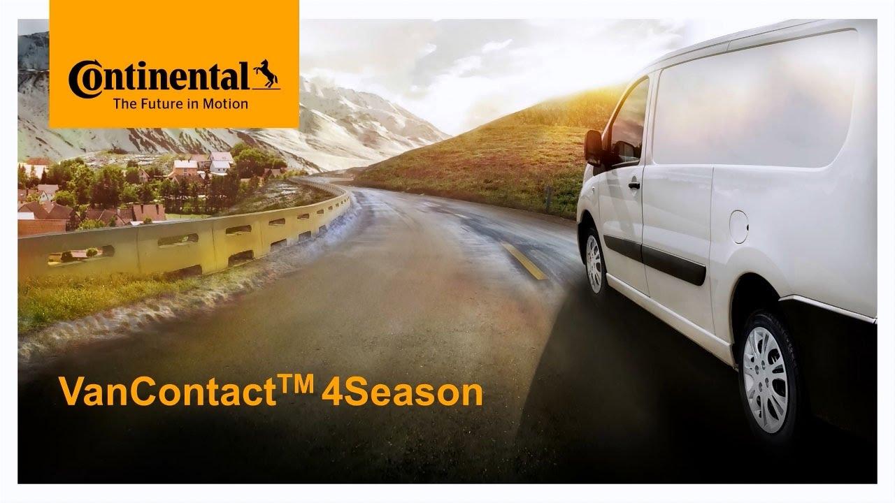 Резина Continental VanContact 4Season