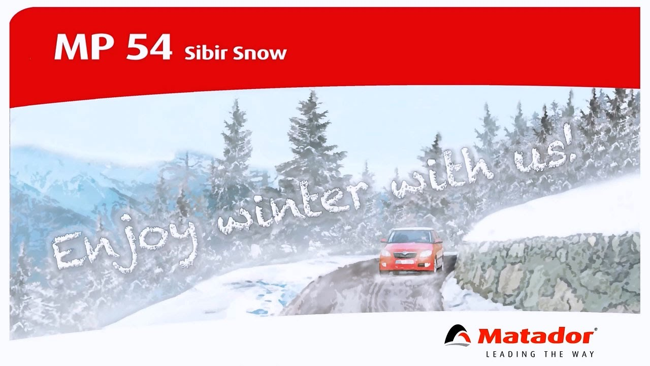 Зимние шины Matador MP54