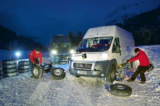 Зимние шины р 17С на легкогрузовики