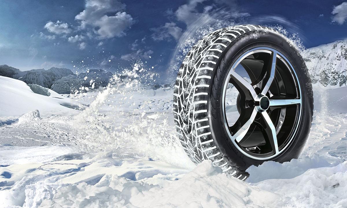 Автомобильные зимние шины 235/55 R17