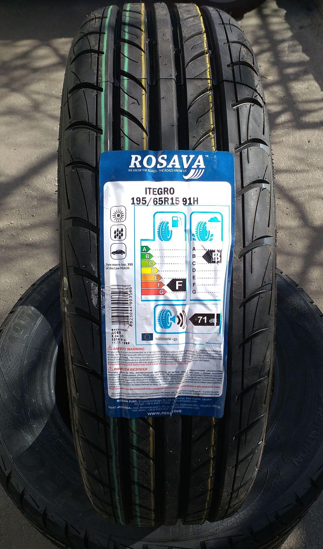 Rosava 195/65 R15